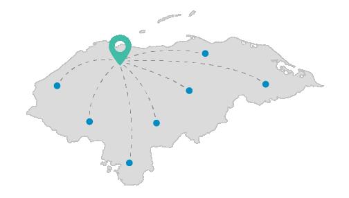 Montasa a Nivel Nacional en Honduras